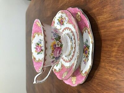 Vintage Lady Carlyle tea set