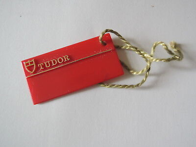 ♛ Authentic R0LEX Tudor ♛ Red Watch Seal Tag