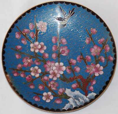 """Lovely Cloisonne 5"""" Pin Dish / Plate"""