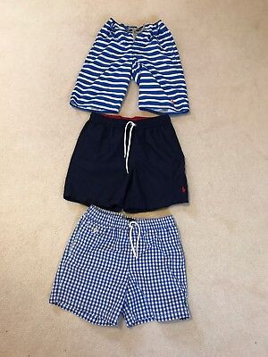 Ralph Lauren X3 Boys Swim Shorts Age 10/11