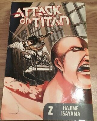 Attack On Titan Graphic Novel Book 2