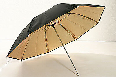 Ombrello gold/black 90cm