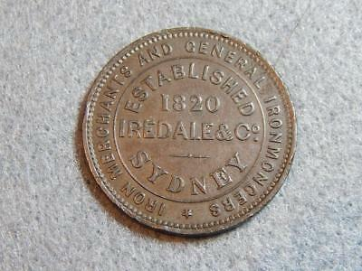 Iredale Sydney Penny / Token (A297) - Excellent Condition
