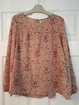 Girls M&S blouse top age 9-10 years