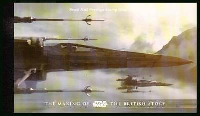 2015 Sg Dy15 Prestige Book Of Stamps Of The Making Of Star Wars British Story