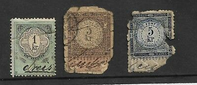 Austria Early Revenue Fiscal Stamps My Ref 82