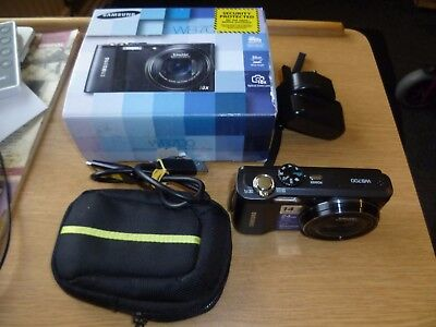 Samsung WB700 Camera 14.2 megapixels 18x Opt. Zoom with case / lead
