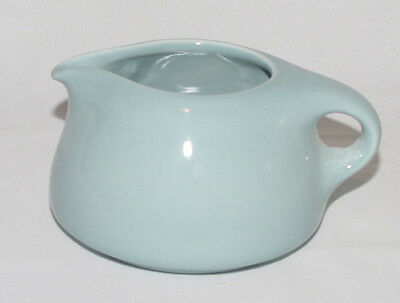 """PERFECT Vintage RUSSEL WRIGHT Blue """"IROQUOIS"""" Cream Pitcher!"""