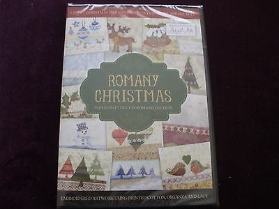Crafter's Companion :-  25 Romany Christmas Papercrafting C.D. Roms