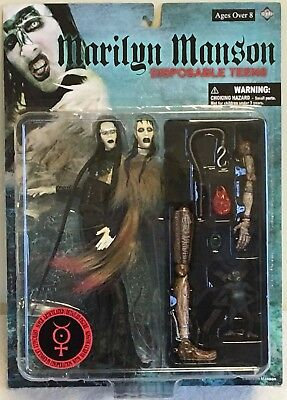 Marilyn Manson ACTION FIGURE DISPOSABLE TEENS Japan Rare F/S