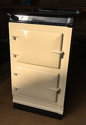 AGA Hot Cupboard companion in cream to suit Total Control 3 oven
