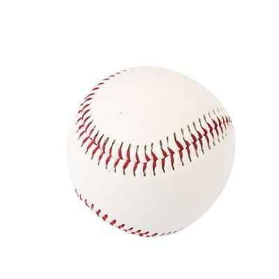 White Cork Rubber Foam PVC Baseball Game Hand Sewn Outdoor Sports Training