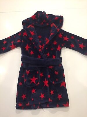 Boys M&S Dressing Gown Age 18-24 Months