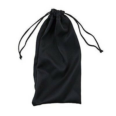 3x Black Microfiber Bags For Cell Phones Sunglasses Glasses Jewelry 3PCS CP254