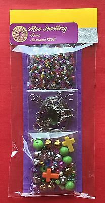 Jewellery Making Pack Kit Craft Bead Necklace Bracelet Mix Colour Aussie Seller