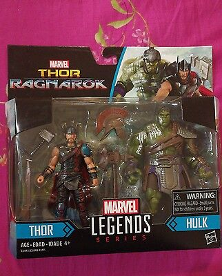 Marvel Legends series Thor Ragnarok Thor Hulk 2 pack 3.75inch