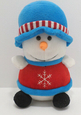 Christmas Stuffed Snowman by Giftco