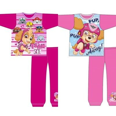 Girls Officially Licensed Paw Patrol Skye Long Pyjama Set. BNWT. 18-24 - 4-5 (23