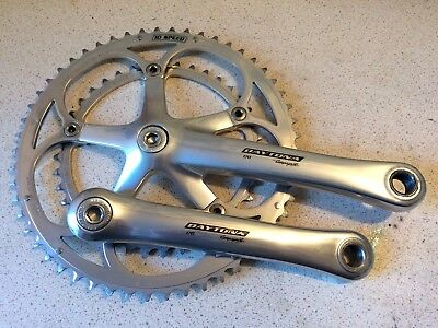 Campagnolo Daytona Alloy Double Chainset, 170mm, 135 BCD, 55/39 teeth, V.G.Cond.