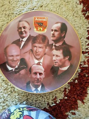 Arsenal Collectors Plate The Managers