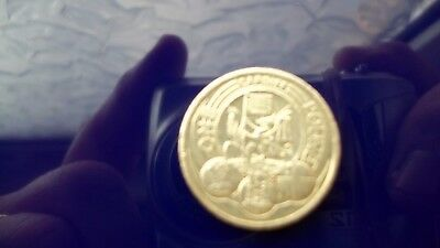 £1 One Pound Coin Cardiff City Very good
