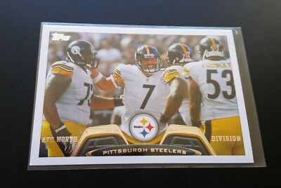 Steelers Team Card AFC North Roethlisberger #105 Topps 2013 NFL Football