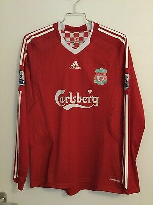 Dossena Liverpool Match Worn/Issued Player Spieler Trikot Shirt Maglia