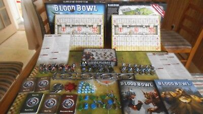 Blood Bowl New Edition Boxed game with 3 painted teams
