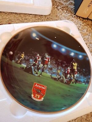 Arsenal Collectors Plate 1989 Champions