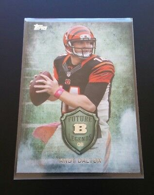 Andy Dalton Bengals Future Legends Topps 2013 NFL Football Trading Card