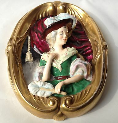 Wedgwood Hand Painted Gainsborough Wall Plaque