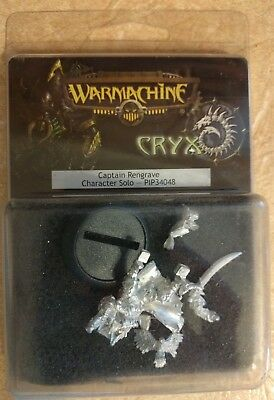 Warmachine Cryx Captain Rengrave Character Solo PIP34048 New