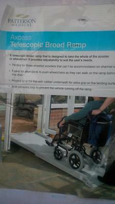 PATTERSON MEDICAL Axcess Wheelchairs Telescopic Broad Ramp