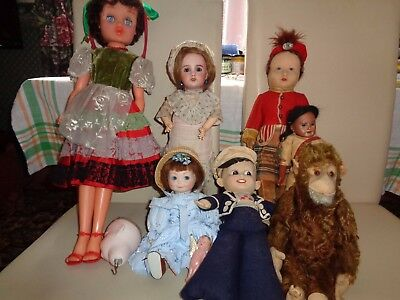 Antique Dolls - French, German and English