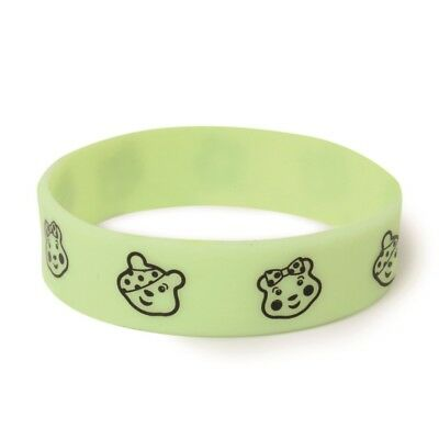 New 2017 Children In Need Pudsey Blush Wristband Glow In The Dark
