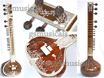 Sitar Royal Pro With Fibreglass Case Gsm058