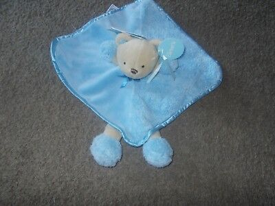 Carters new Blue Bear  lovely security blanket new  Lovey