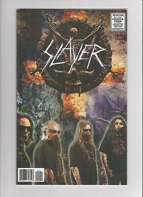 Slayer Repentless #1, 2; Rock & Roll Biography Slayer #1 all NM HTF FREE SHIP!