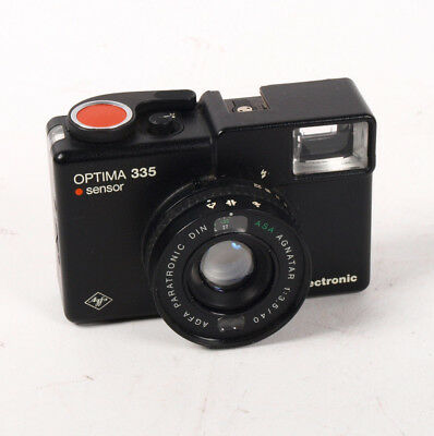 Vintage AGFA Optima 335 Electronic Sensor 35mm Film Camera - not working