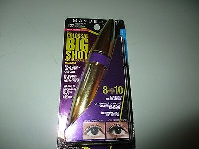 Maybelline The Colossal Big Shot Waterproof Mascara 227 Brownish Black