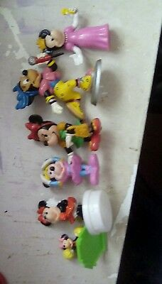 6 Disney Minnie mouse figures