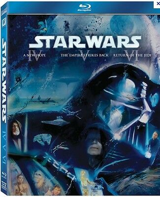 STAR WARS BLU RAY  épisode IV à VI