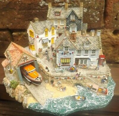 "Danbury Mint RNLI Collection ""FLAG DAY"" Jane Hart Diorama."