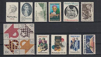 USA 1978 Stamps Mint Never Hinged MNH United States of America