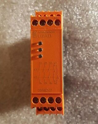 Safemaster LG5933 Safety Relay, 24 V ac/dc, 3 Safety, 1 Auxiliary
