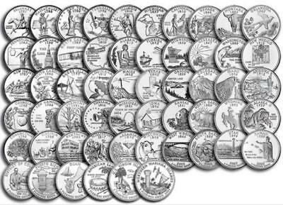 US State Quarters, P and D Mint