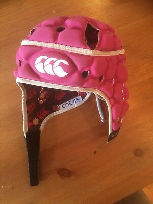 Pink Canterbury Rugby Headguard