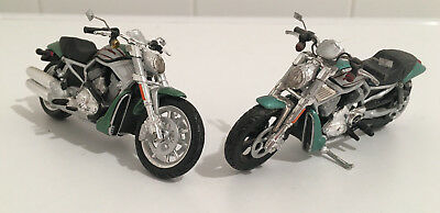 Harley Davidson Street Rod Set 1/24 Maisto Custom Bike Motorcycle Motorrad