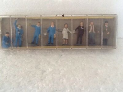 Dinky Service Station Personnel Set very rare boxed