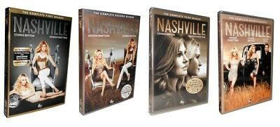 Nashville: The Complete Seasons 1-3 (DVD, 2015, 15-Disc Set) 1 2 3